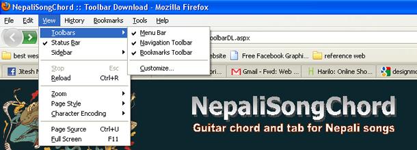 Nepali Song Chord